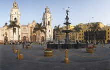 Lima City Tour + Lunch + Pachacamac