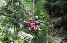 Extreme Zip Line Fun