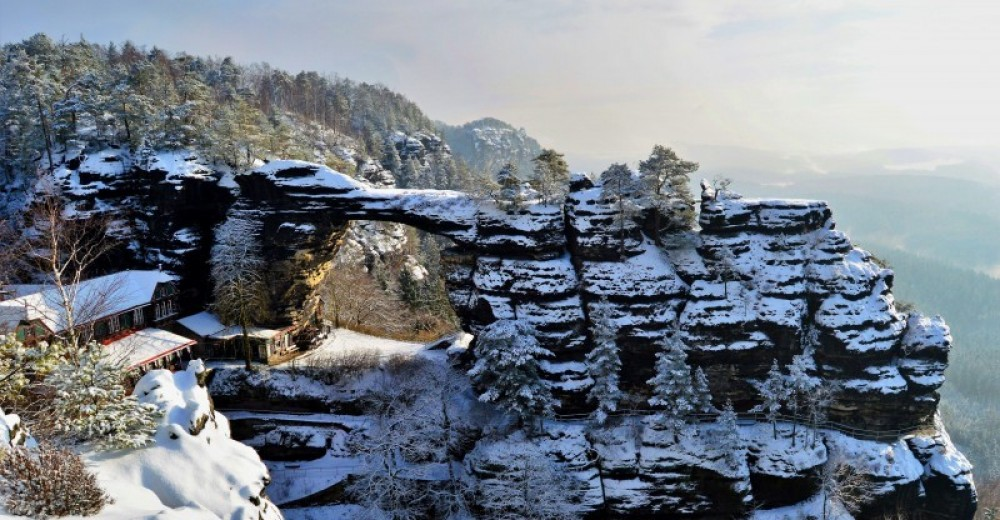 Bohemian Switzerland From Prague - Winter