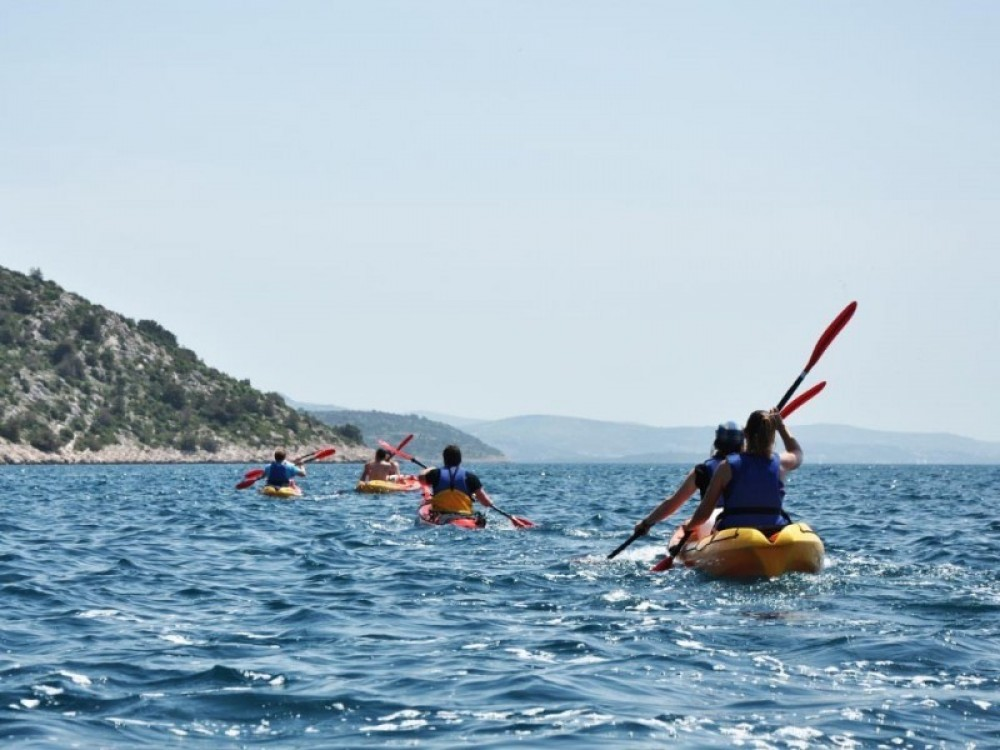 Zlarin Island Sea Kayaking