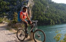 Cycling Krka River