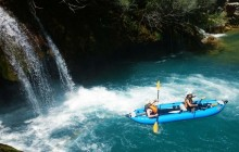 Kayaking Mreznica Canyon