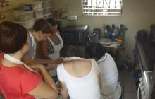 Pupusas making