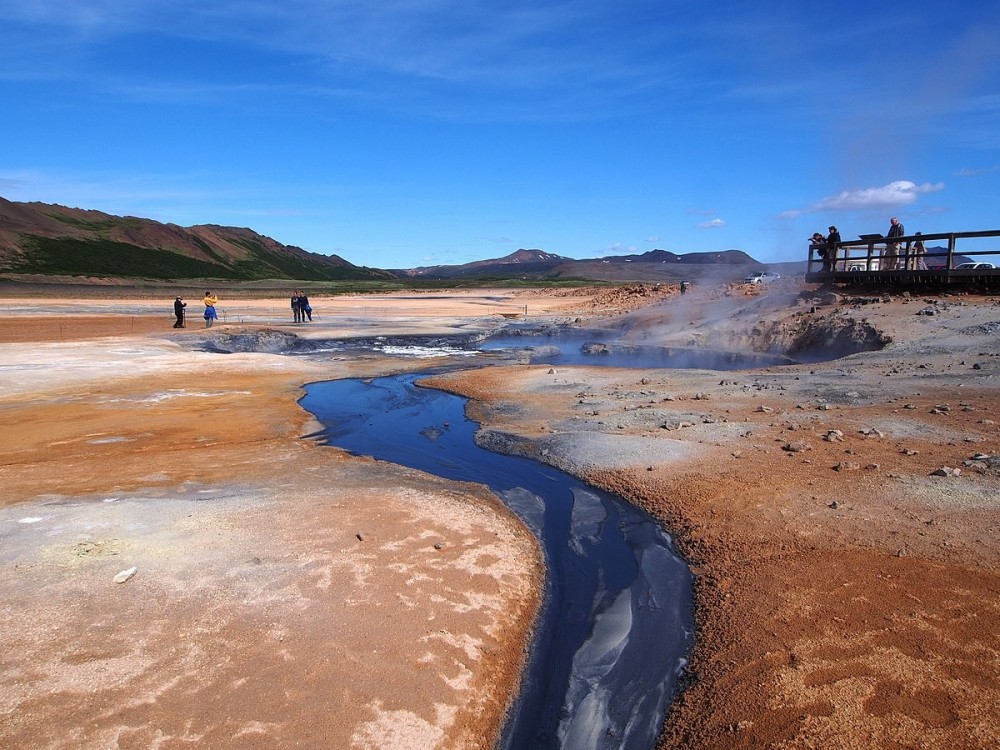 Hverir Mud Pools