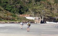 Naufragados Beach & Ribeirão da Ilha village