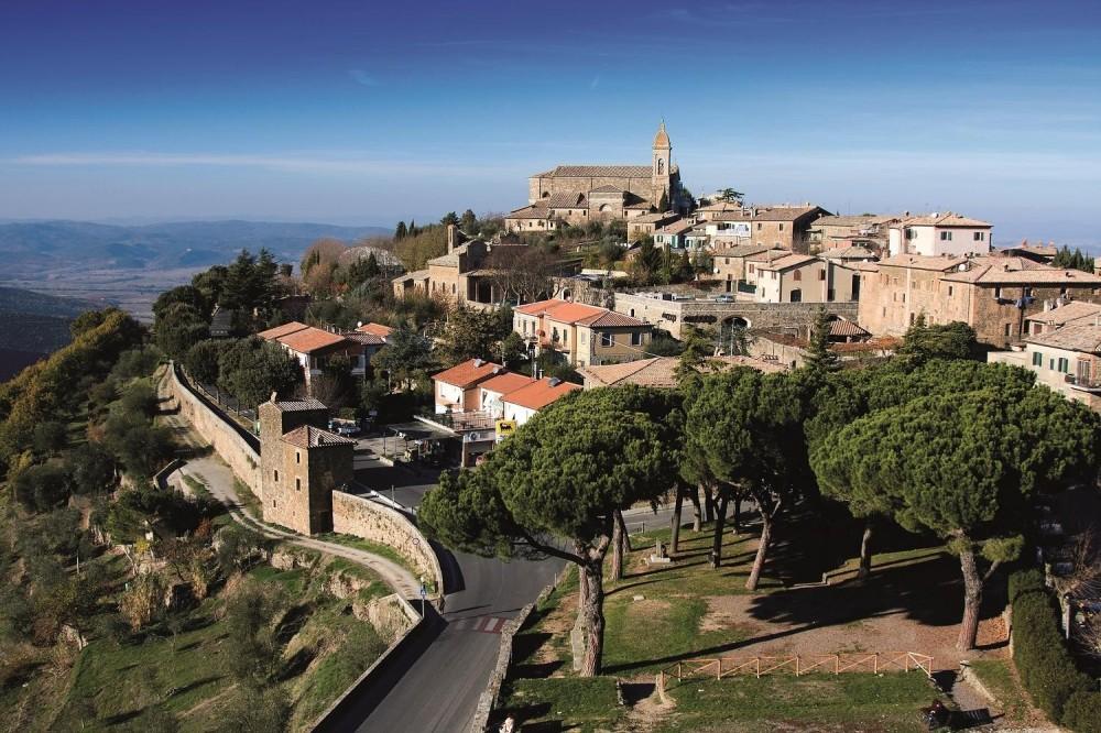 Montalcino, Pienza and Montepulciano from San Gimignano