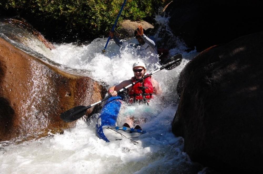 Rafting Canyon De La Vieja