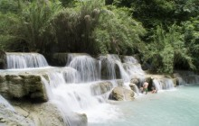 1 Day Trek Kuang-Si Waterfall