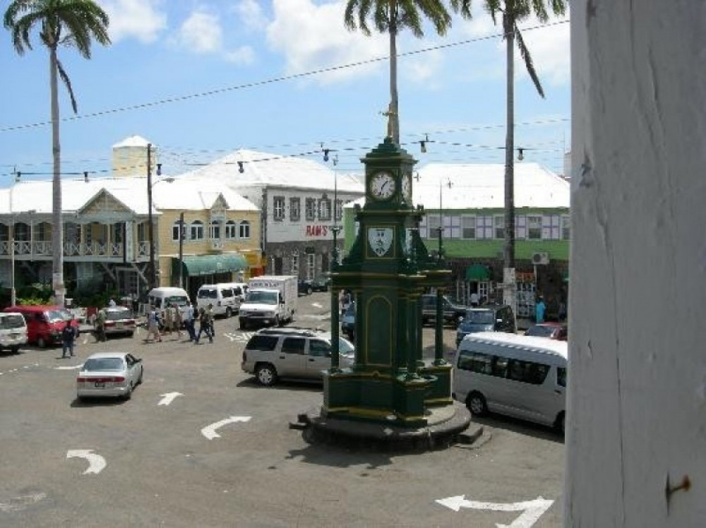 Driving Tour of Historic Basseterre