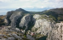 Omiš City Area Walking & Hiking Tour