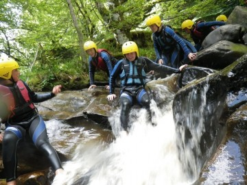 A Picture Of Canyoning Keltneyburn Tour