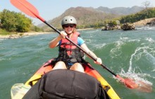 1 Day Whitewater Kayaking on the Nam Ou River with Village Visit
