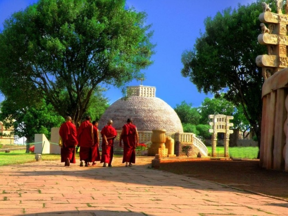 Private Visit To Sanchi And Udayagiri From Bhopal