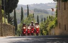 Vespa & Chianti from Lucca