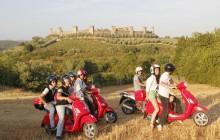 Vespa & Chianti from San Gimignano