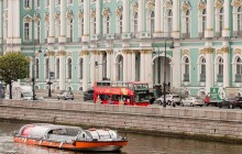 City Sightseeing Hop On Hop Off St. Petersburg Boat