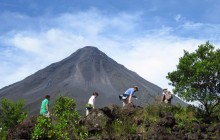Volcanoes, Forest and Beach - 7 Day Mountain Bike Tour