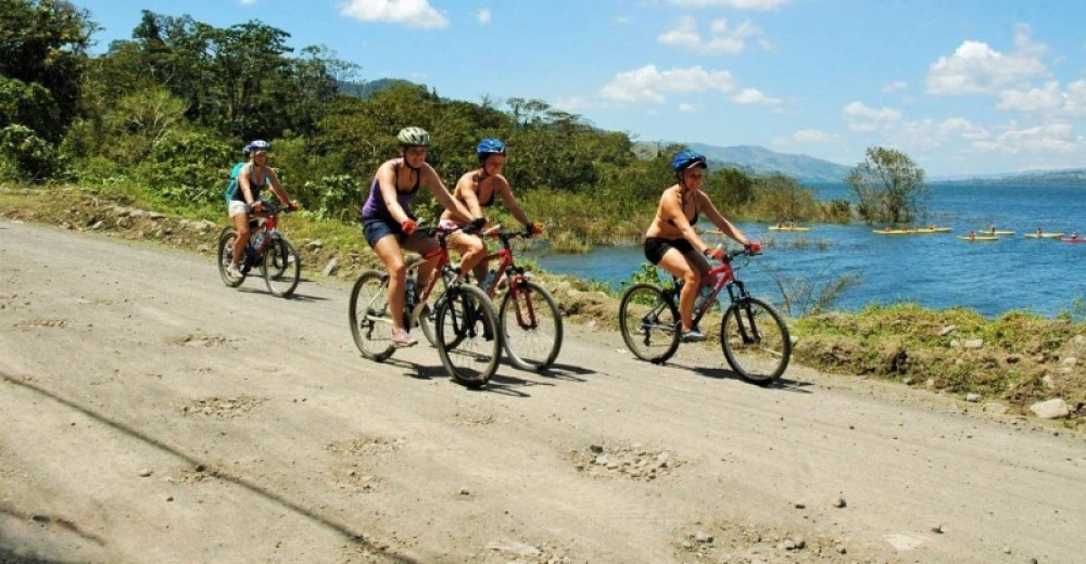 Mountain Bike At Lake Arenal - One Day Adventure