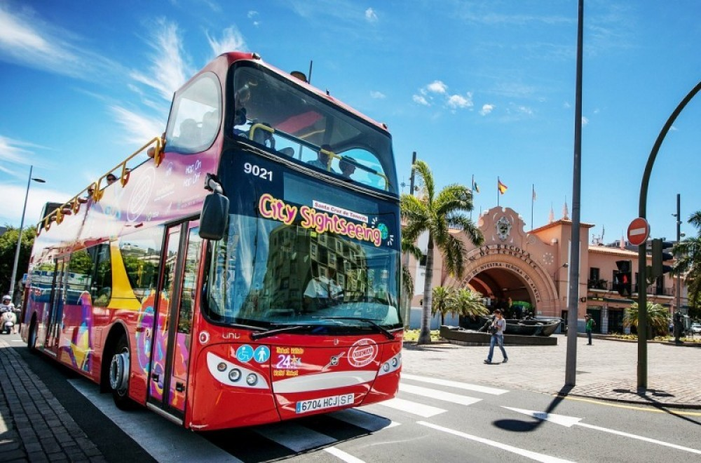 City Sightseeing Hop On Hop Off Santa Cruz de Tenerife