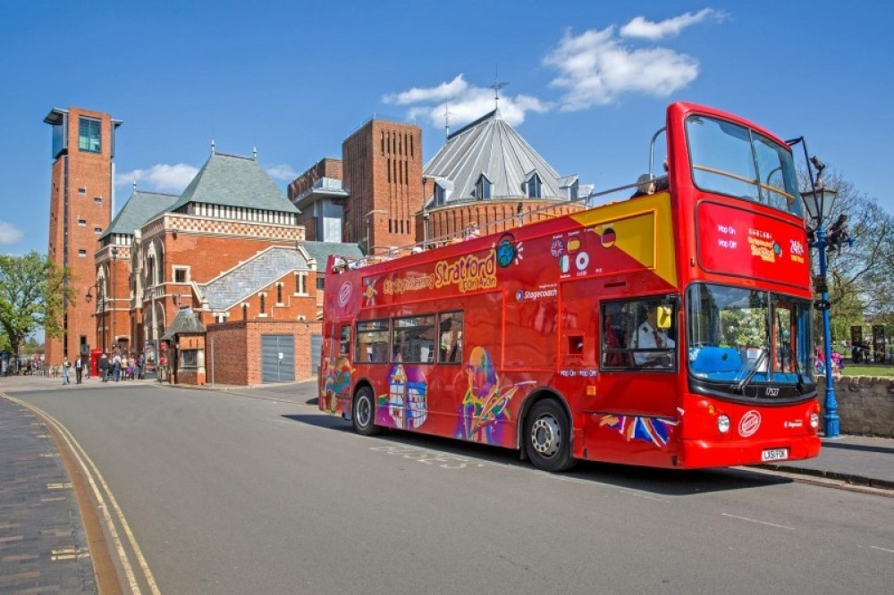 City Sightseeing Hop On Hop Off Stratford upon Avon