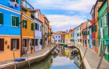 Small Group Murano + Burano Tour by Boat