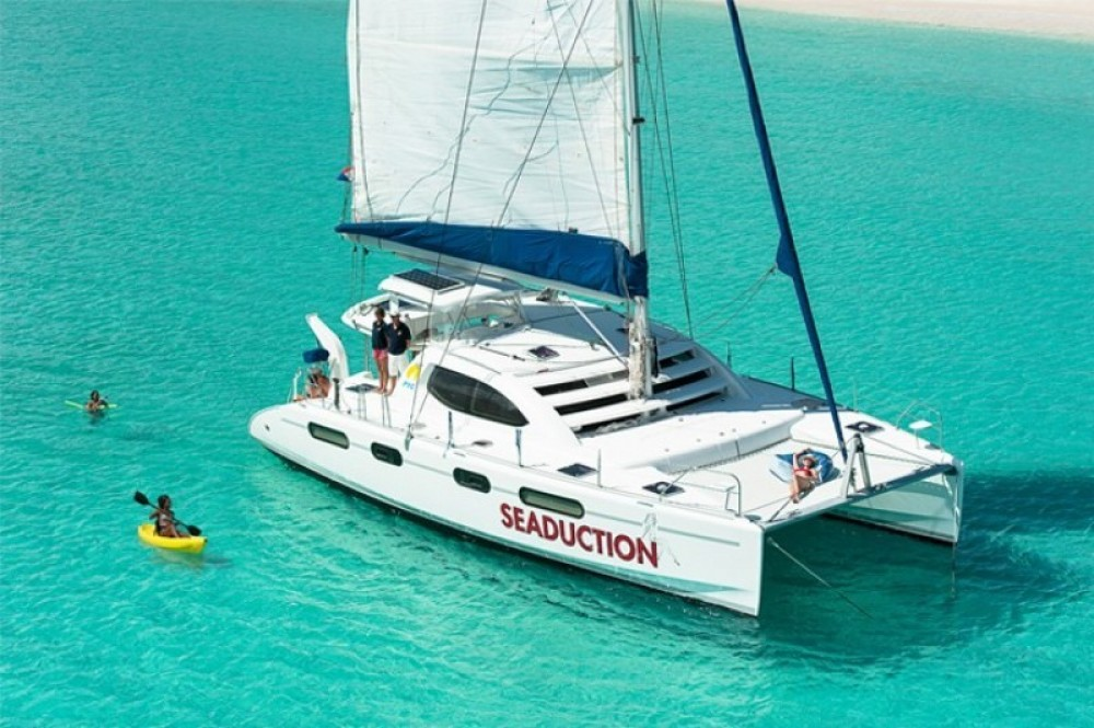 Seaduction 46ft Yacht Day Charter to St Barth