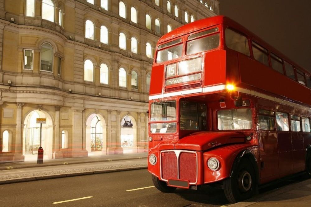 Vintage Bus Tour, Champagne Tea River Cruise, & London Eye