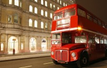 Vintage Double Decker Bus Tour & River Cruise - Afternoon