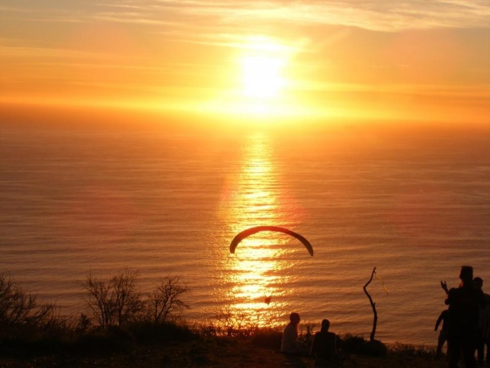 Romantic sunset tour by Trike.
