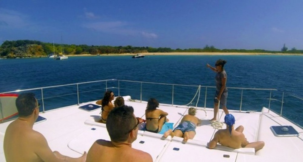 Full Day Charter to Tintamarre, Creole Rock, and Rrendez-Vous Bay