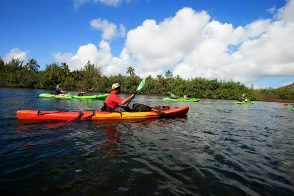 Kauai Kayak Guided Tour