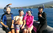 Deluxe Morning Wild Dolphin Swim and Kealakekua Bay Snorkel