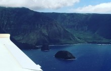 Molokai Flight from Maui