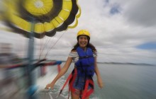 Single Person Parasail at 1200 Feet