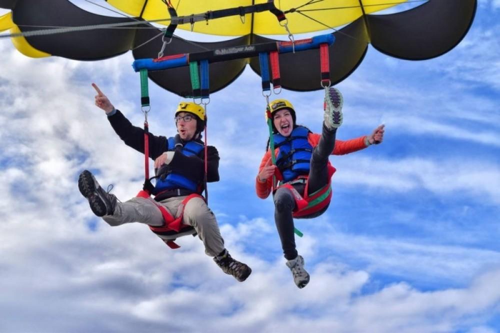 Tandem Parasail at 1200 Feet