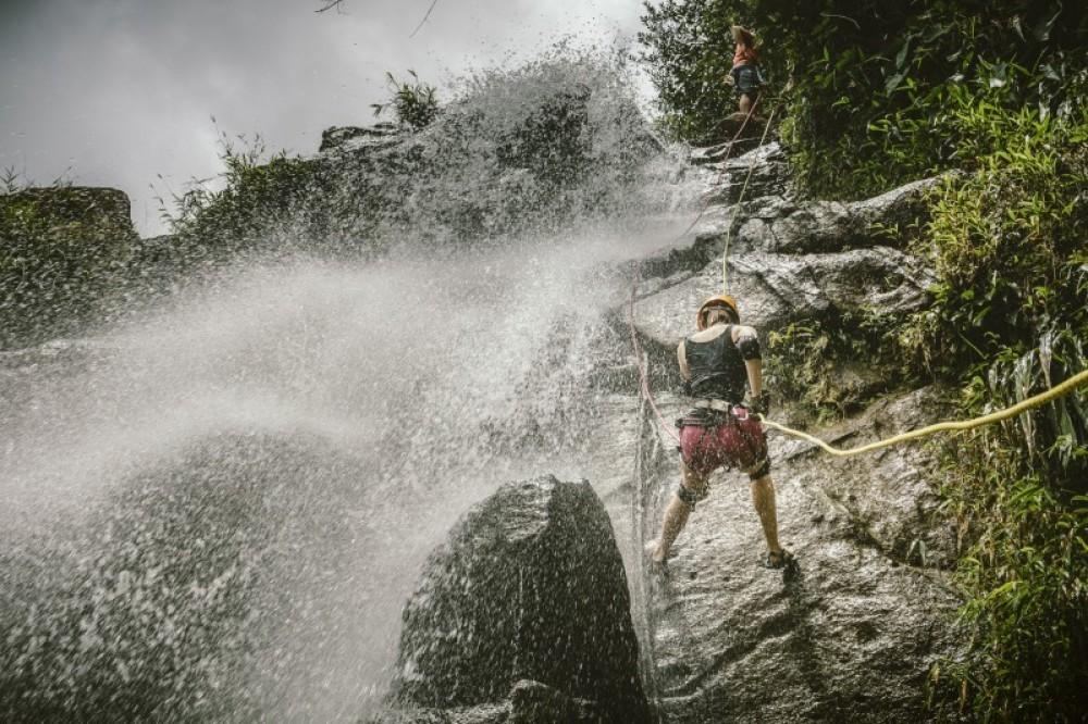 Antelope Waterfall Rappel