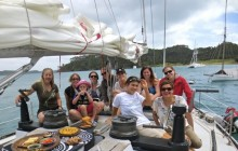A Day of Sailing in the Bay of Islands