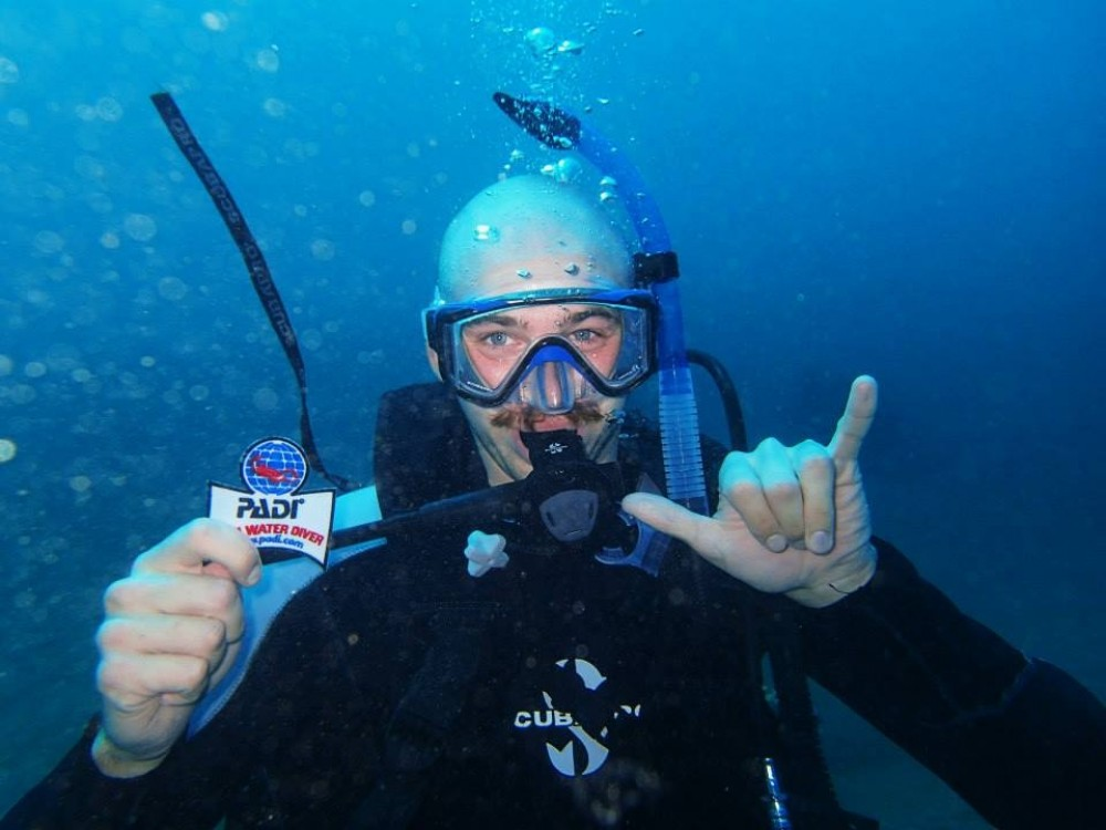 PADI Open Water Scuba Certification - E-Learning