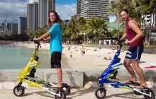 Magic Island Trikke Tour