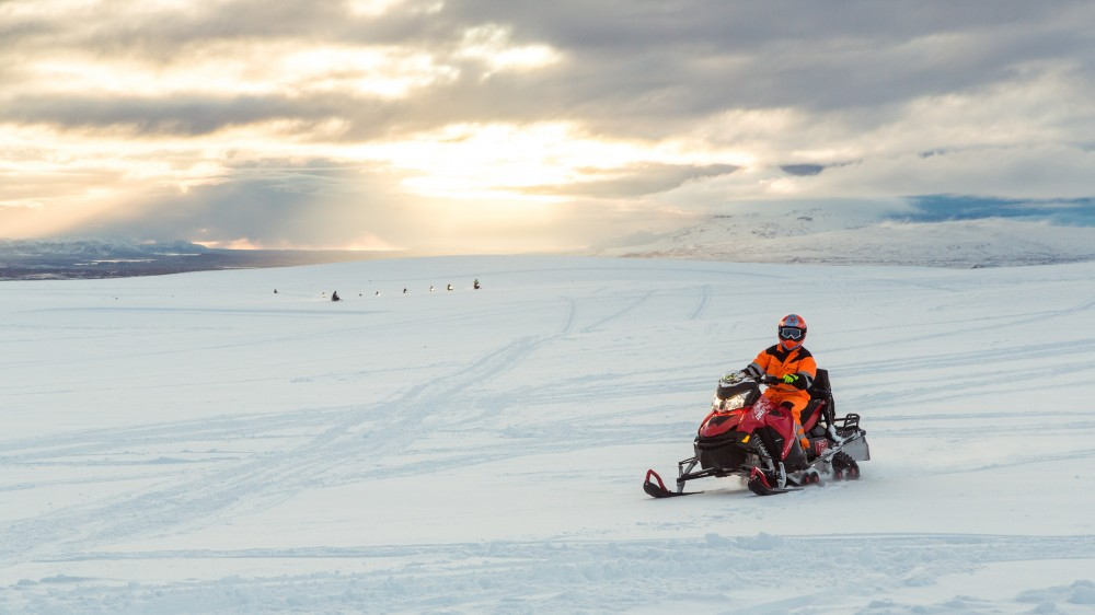 Golden Circle, Super Jeep & Snowmobiling