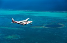 Private: Blue Hole Fly Over From Belize City (TZA)