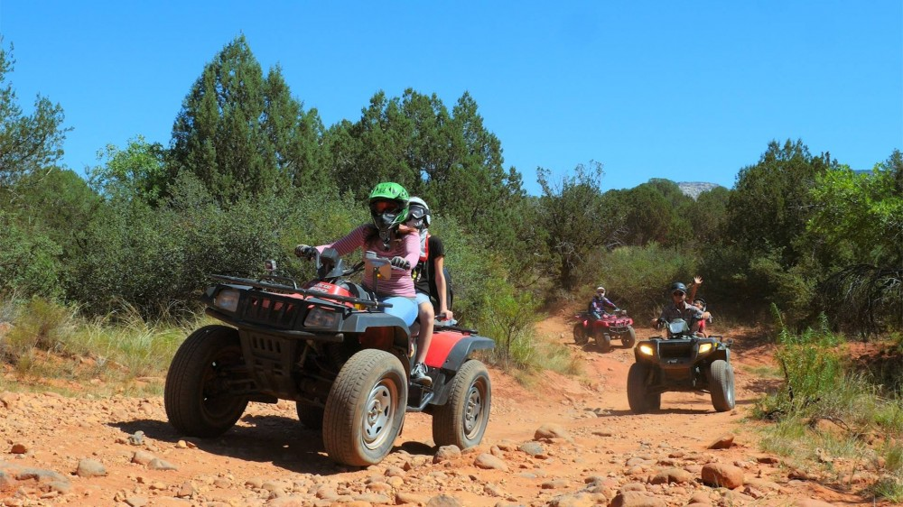 The West Sedona Canyon ATV Tour