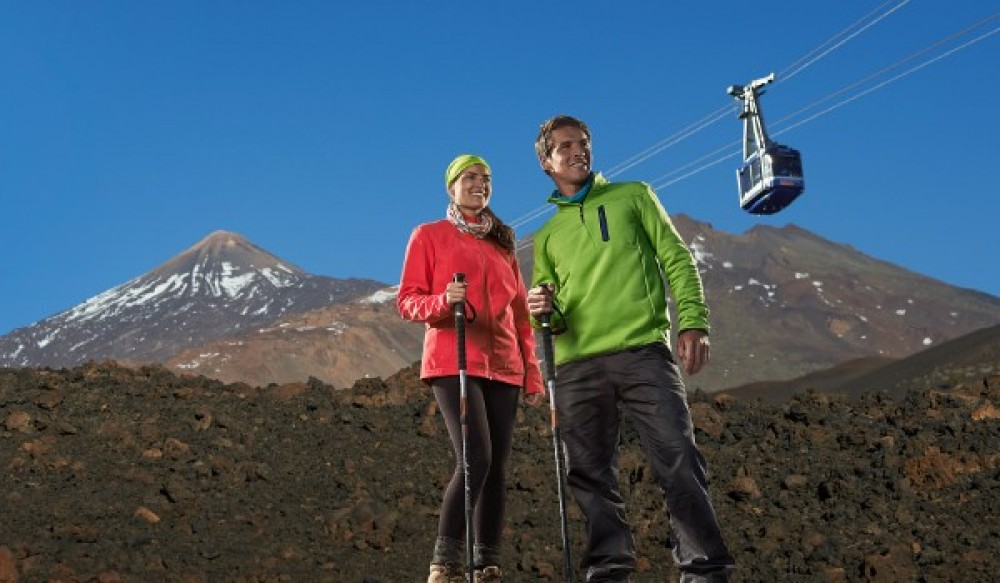 Ascent to the Peak of Mount Teide by Hike & Cable Car