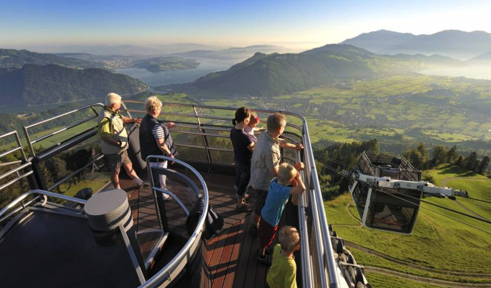 Stanserhorn - Open Top Cable Car