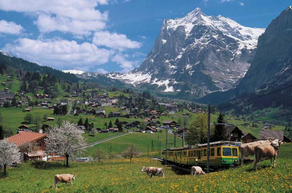 Grindelwald & Interlaken from Lucerne
