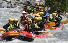 Whitewater Rafting in Interlaken from Lucerne
