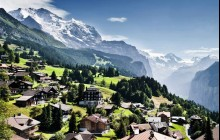 Kleine Scheidegg - Center of the Alps from Lucerne