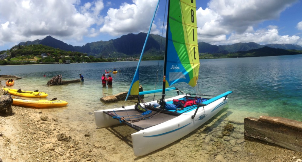 Holokai Hobie Catamaran Adventure Sailing Tour
