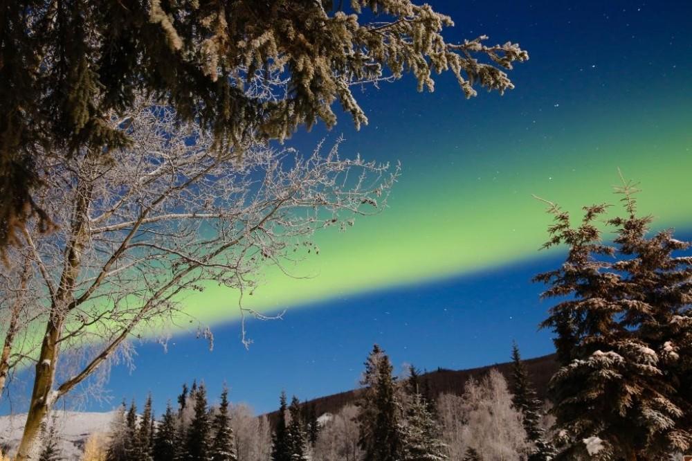 Chena Hot Springs & Aurora Borealis from Fairbanks