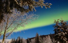 Chena Hot Springs & Aurora Borealis from Fairbanks